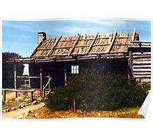 Craigs Hut, Mount Stirling Poster