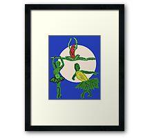 The Three Sister's Harvest Dance Framed Print