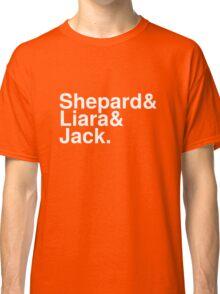 Mass Effect Names - 8 Classic T-Shirt