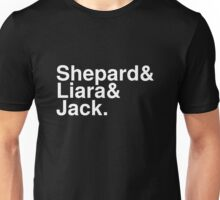 Mass Effect Names - 8 Unisex T-Shirt