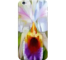 Orchid Cattleya iPhone Case/Skin