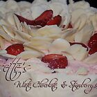 Susette's White Chocolate & Strawberry Gateau by Hayley Solich