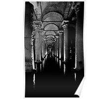 Basilica Cistern Poster