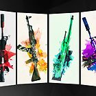 CS:GO colorful weapons (B) vol.2 HQ by Dhaxina