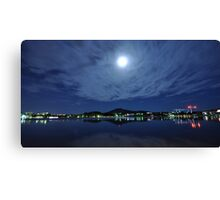 Clouds Above the Capital Canvas Print