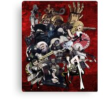 No More Heroes Boss Enemies | RED Canvas Print