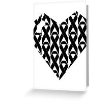 Breast Cancer Love n Support Greeting Card