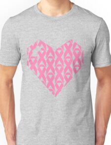 Breast Cancer Love n Support Unisex T-Shirt