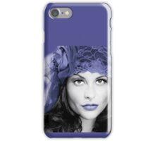 Selective Colour Headshot iPhone Case/Skin
