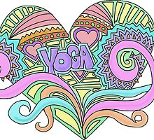 LOVE YOGA by divinelightzone