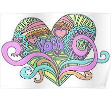 LOVE YOGA Poster