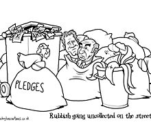 Rubbish Going Uncollected on the Streets... by Alex Hughes