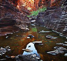 Knox Gorge - Karijini N.P. by Mark Shean