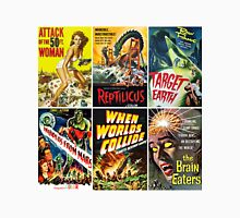 Vintage Sci-Fi Movie Poster Art Collection #1 Unisex T-Shirt