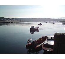 Returning Boat Photographic Print
