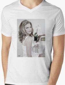 MIRJAM Pillowbook Pinup Mens V-Neck T-Shirt