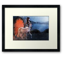 Centaur Archer Framed Print