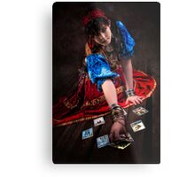 Gipsy Tarot Magic Metal Print