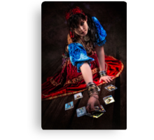 Gipsy Tarot Magic Canvas Print