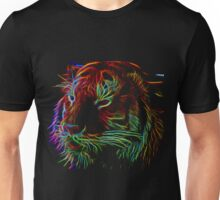 Glowing Tiger Unisex T-Shirt