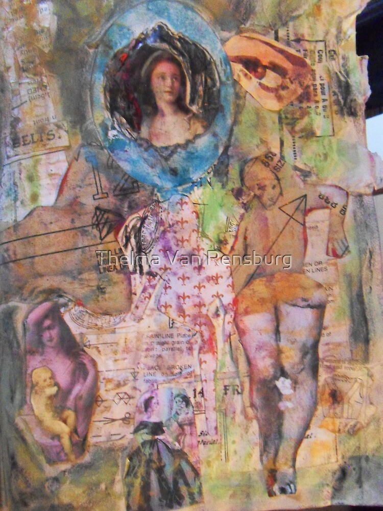 being a girl, 2010 by Thelma Van Rensburg
