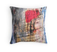 distorted body, 2010 Throw Pillow