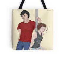 Modern AU Arya and Gendry Tote Bag