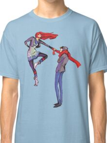 Pull me up - Wintery Romance - Antagonistic - Big red bits - Aw yeah Classic T-Shirt