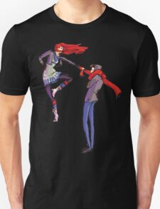 Pull me up - Wintery Romance - Antagonistic - Big red bits - Aw yeah Unisex T-Shirt
