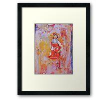 baby doll, 2010 Framed Print