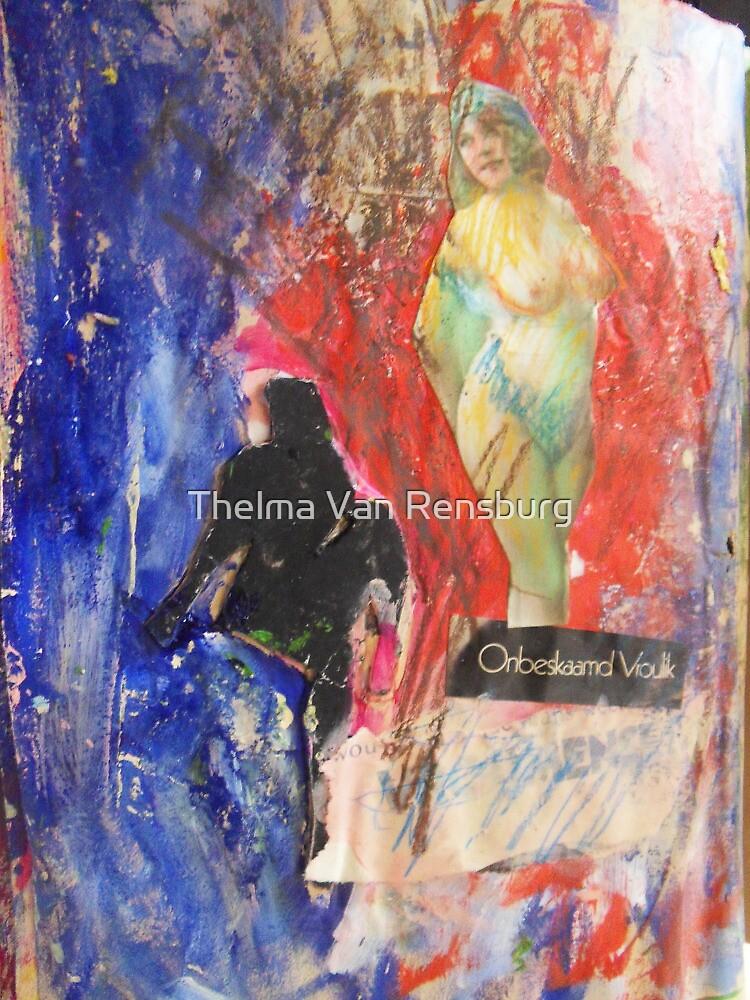 feminine, 2010 by Thelma Van Rensburg