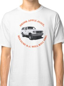 Drink Apple Juice Classic T-Shirt