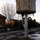 Water tower, Loughborough by Paul Benjamin