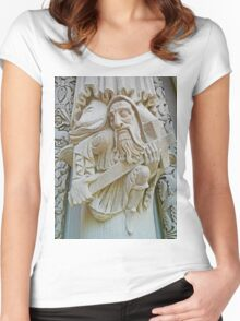 Sculpture on Riverside Women's Fitted Scoop T-Shirt