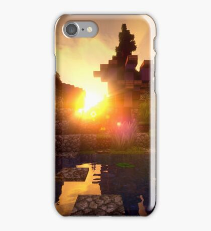 Minecraft Shader Picture iPhone Case/Skin