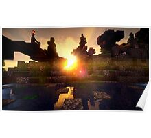 Minecraft Shader Picture Poster