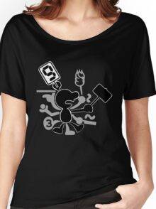 Mr. Game & Watch Women's Relaxed Fit T-Shirt