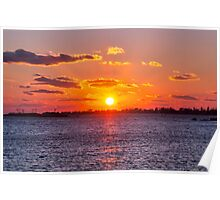 Sublime Sunset Poster