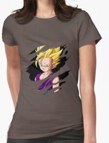 kid gohan super saiyan 2 anime manga shirt Womens Fitted T-Shirt
