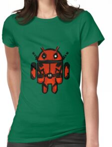 Android Pool Womens Fitted T-Shirt