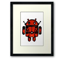 Android Pool Framed Print