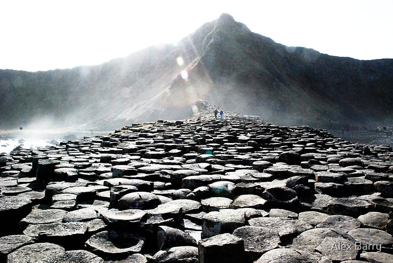 Giants Causeway Rocks by Alex Barry