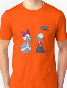 Accented Donald and Daisy  T-Shirt