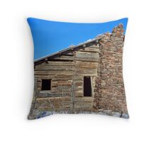 Camp Creek Homestead Throw Pillow
