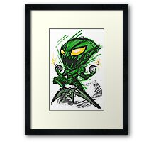 Happy Goblin! Framed Print