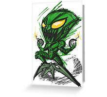 Happy Goblin! Greeting Card
