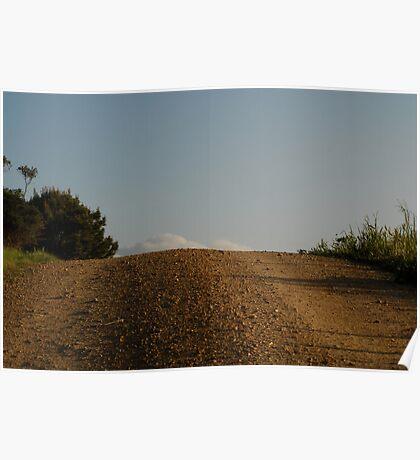'Up the Hill' - Fleurieu Peninsula SA Poster