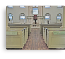 Old South Meeting House I Canvas Print
