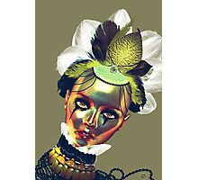 Lady Gold Photographic Print