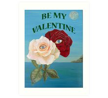 Roses, Be My Valentine Art Print